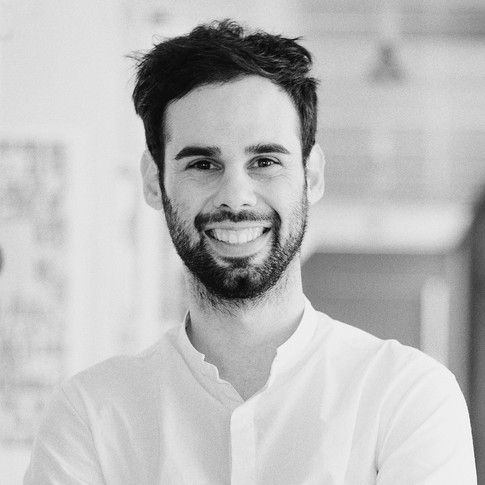 He graduated in Architecture from Politecnico di Milano (Milan's Polytechnic), branch of Piacenza, in 2015 with a dissertation on the project for a theatre in the courtyard of Palazzo Farnese in Piacenza.  While at university, he specialised in architecture photography and 3D modelling, subsequently freelancing for various professional practices.  In 2016 he worked as Interior Designer for the Paola Favretto practice in Lugano, following the project through all its stages.