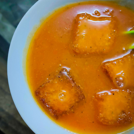 Healthy Tomato and Carrot Soup Recipe