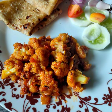 Masala Gobhi Dry ( Cauliflower )