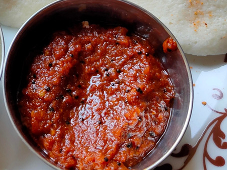 Andhra Style Spicy Chili Chutney