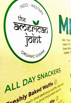 Organic Food @The American Joint