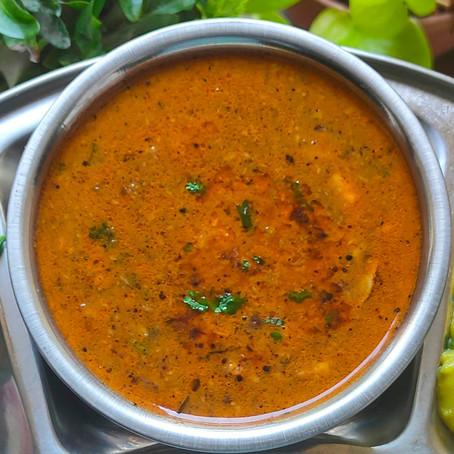 Malvani Kalya Vatanyachi Usal ( Black Peas Curry )