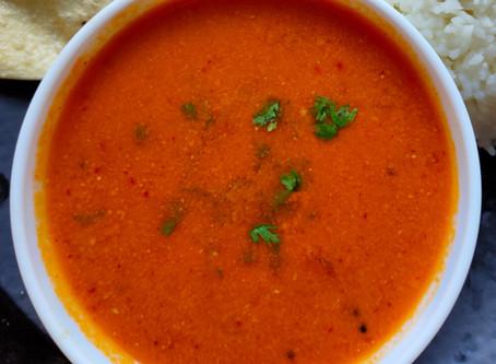 Tomato Saar / Rassa ( Malvani Tomato Curry )