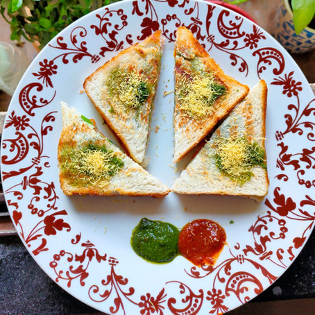 Bombay Masala Toast Recipe