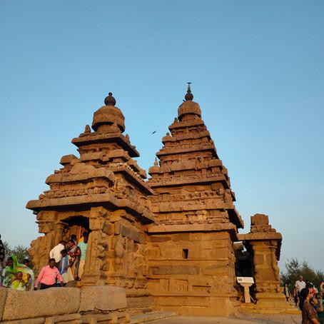 One day in Mahabalipuram