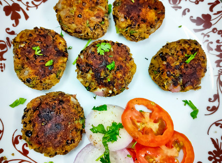 Black Peas Tikkis Recipe
