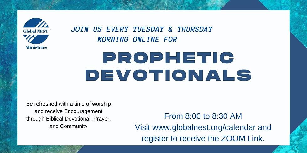 Prophetic Devotionals