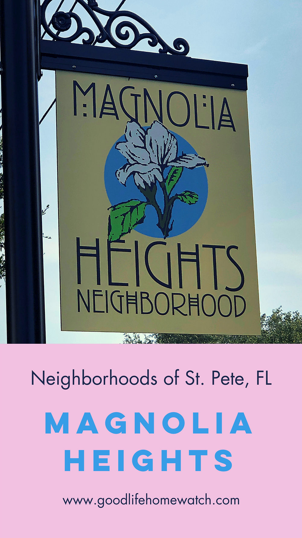 Old Northeast Neighborhood sign in St. Petersburg, FL
