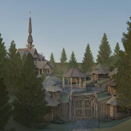 Saxon village design