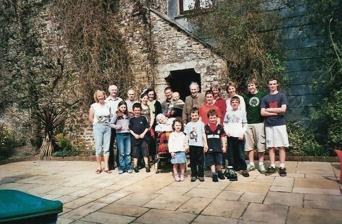 Easter Family Photo