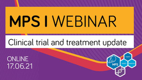 MPS I Webinar: Clinical trial and treatment update