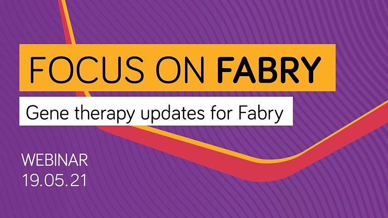 Focus on Fabry webinar