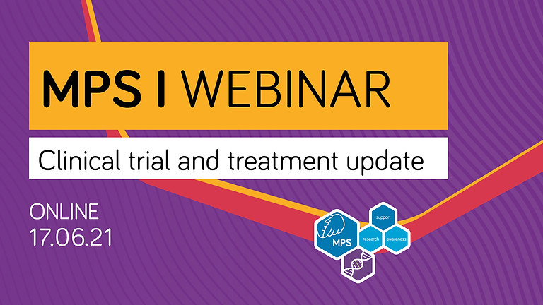 MPS I Clinical trial and treatment update webinar
