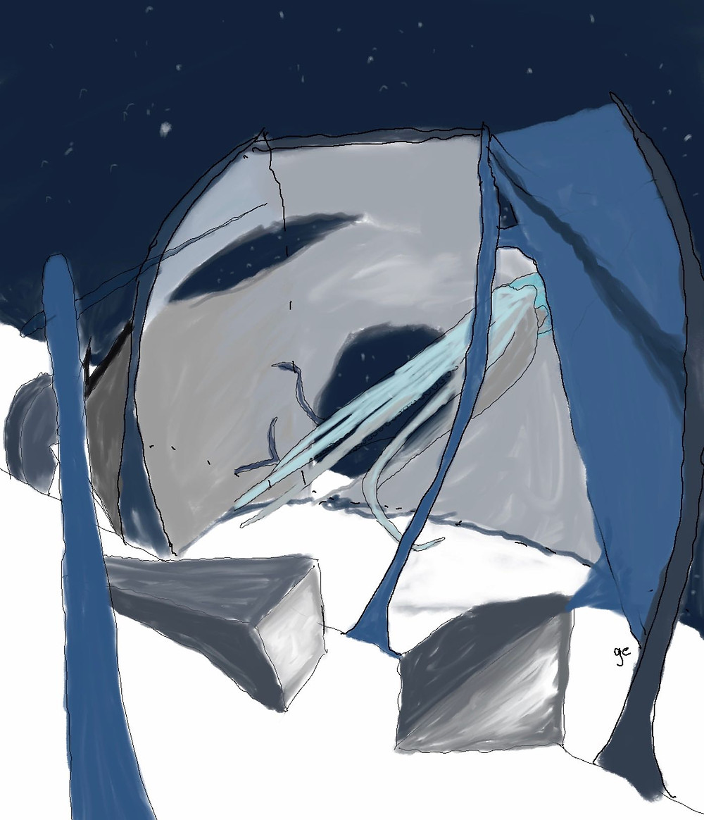 """« Jetsu introduced Vanu to an extensive den, even for oggies. » excerpt from my #WIP """"Plenum"""" #scifi"""