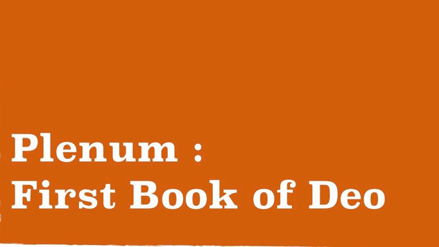 The Books of Deo