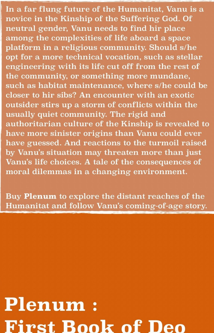Plenum : The First Book of Deo
