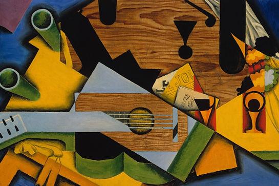 Natura morta con una chitarra