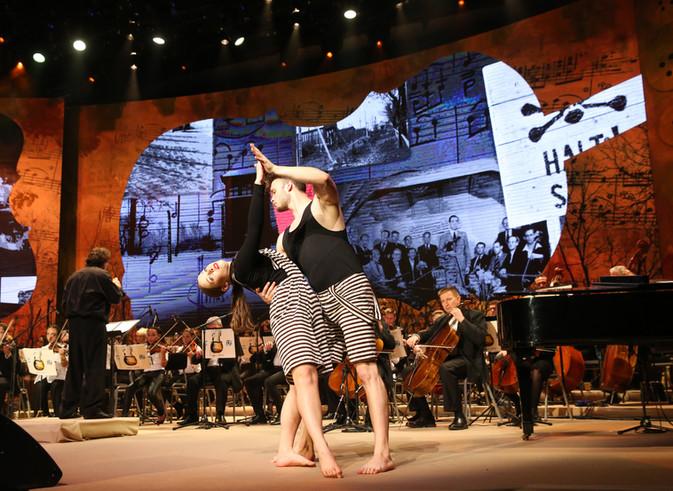תווים של תקווה עם המאסטרו פרנצ'סקו לוטורנו, בנייני האומה JNF-UK