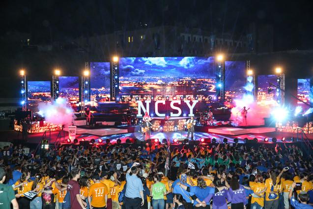 YOM NCSY - OU אירוע מרכזי לבני נוער מארהב 2500 משתתפים יד לשריון לטרון (4)
