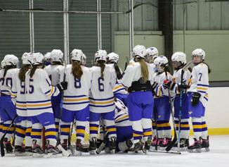 Mustang Mid Season Report: Girls Hockey