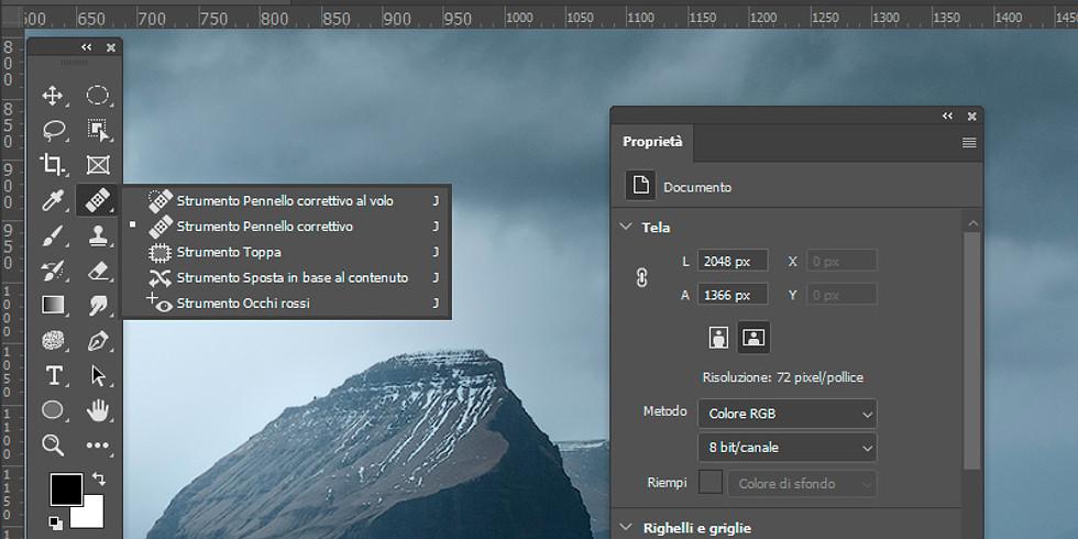 Photoshop II : strumenti essenziali