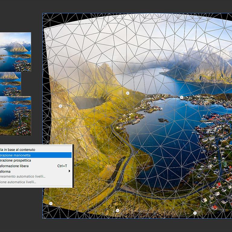 Photoshop IV: alterazioni e correzioni