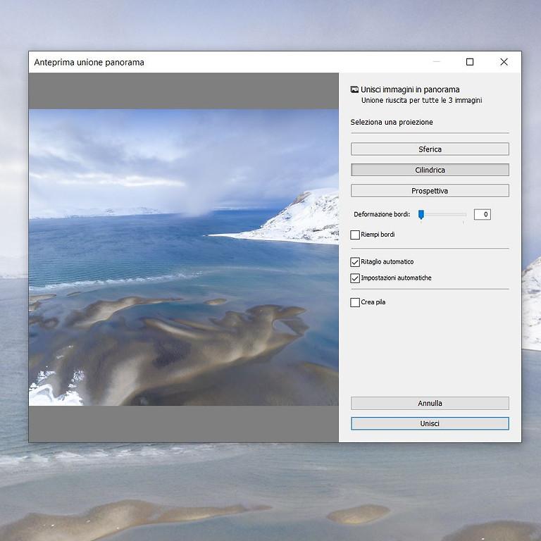 Lightroom: panoramiche e HDR