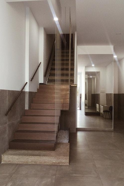 Proyecto de reforma de portal de edificio de viviendas. Archivos editables