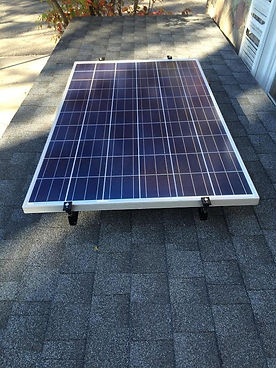 1 Panel Lanscape RAQ with Solar Panel