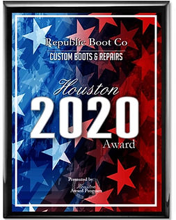 Republic Boot Award