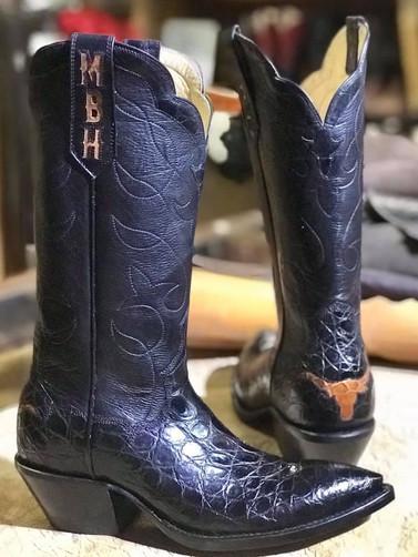 Gator Longhorn Boots