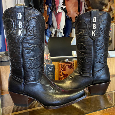 Customized Brides Boots