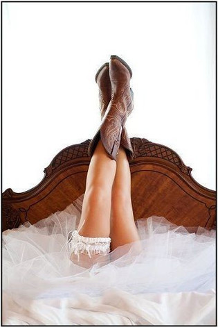 Bride in Boots
