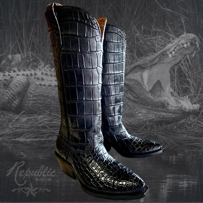 Let us make boots from your Gator!