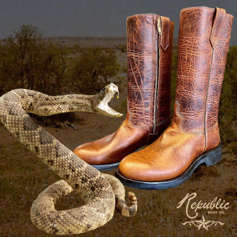 Kevlar Lined Snake Boots