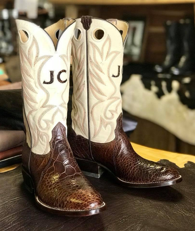 Vintage boots made custom