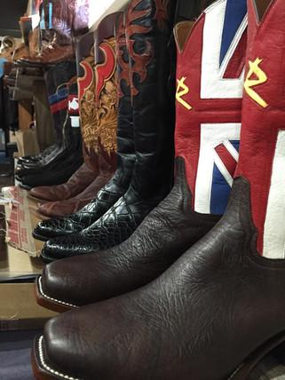 Hosuton Custom Boots