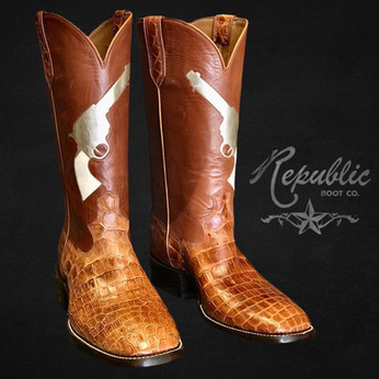 Guns Up - Cognac Gator