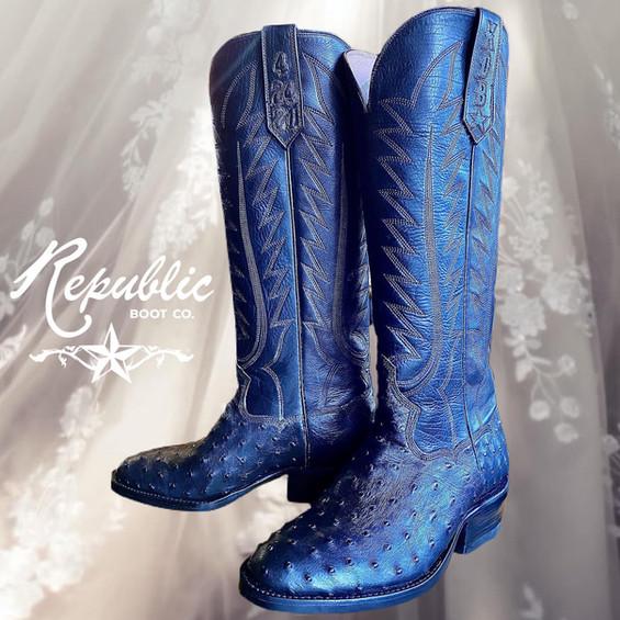 Black Wedding Boot