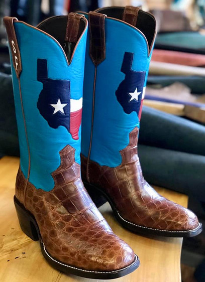 Republic of Texas on Baby Blue