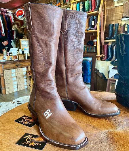 Single Piece Calvary Boots