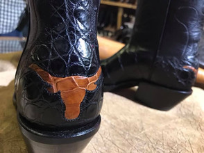 Texas Gator Inlay