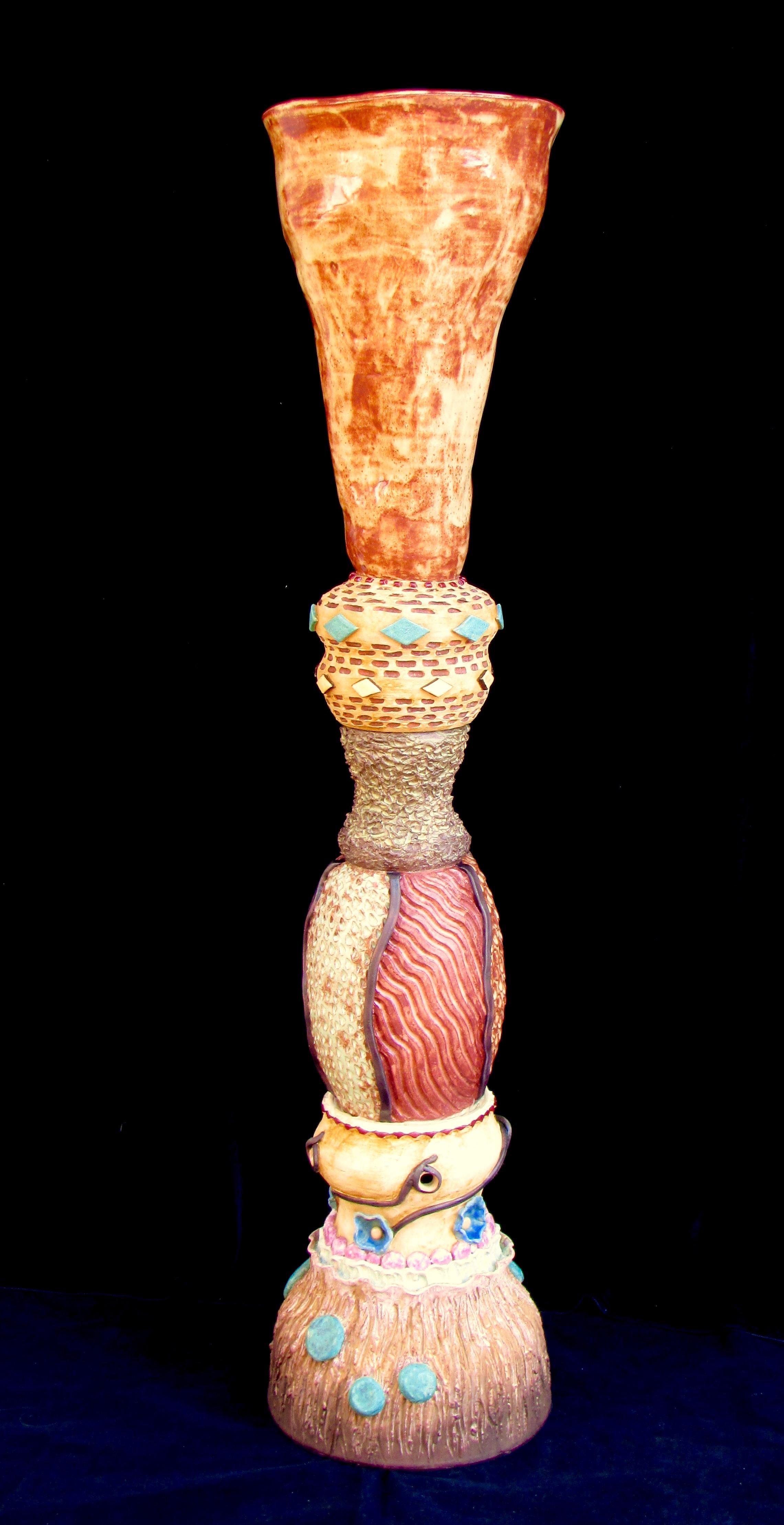 Totem Floor Vase