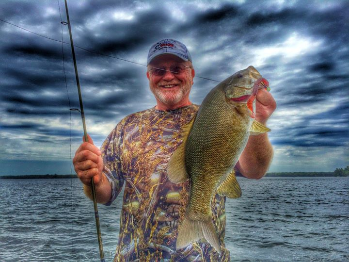 "Facebook - Grandpa Paul Hein - with a nice 20"" brownie! Feels more like Septembe"