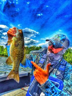 Pete Hein Smallmouth Bass Fishing