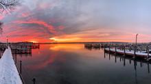 Winter Sunrise Over Minnetonka