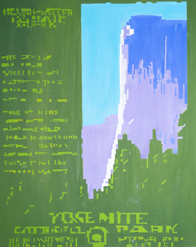 ASCII Yosemite