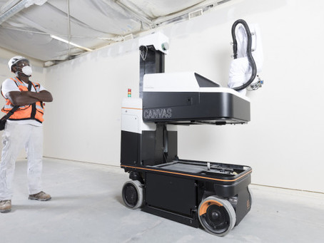 Automated Drywall Robot Works Faster Than Humans in Construction