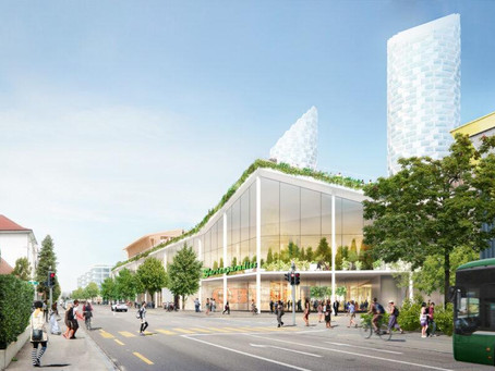 How a green-roofed shopping center is redefining 'reuse'