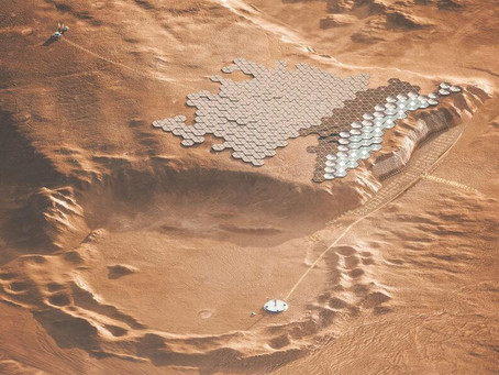 Nüwa, the design for a self-sustaining city on Mars